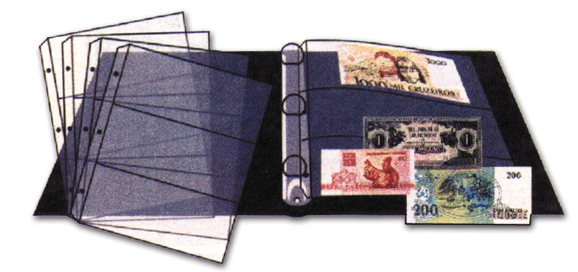 Bank Note Binder Only