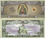 Seven Dollar Our Blessed Lady Fantasy Note