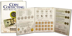 Coin Collecting Merit Badge Folder