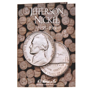 Jefferson Nickel Folder 1938-1961 - Book 1
