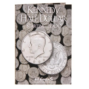 Kennedy Half-Dollar Folder Starting 2000 - Book 3