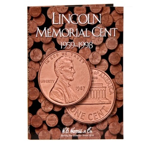 Lincoln Memorial Cent Folder 1959-1998 - Book 4