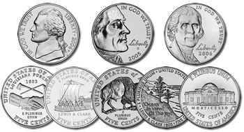 2004 - 2006 Westward Journey Nickel Set of 10