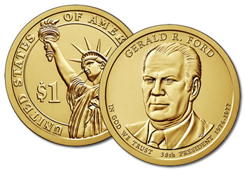 2016-P Gerald Ford Presidential Dollar Coin