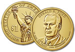 2016-D Gerald Ford Presidential Dollar Coin