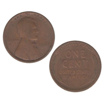 1909-P U.S. 1st Year Lincoln Cent