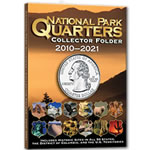 Park Quarters 4 Color Single Mint Folder