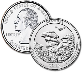 2016-P Shawnee National Forest Quarter - Uncirculated
