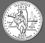 2003-P Illinois State Quarter