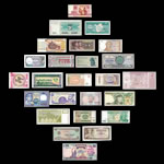 25 Banknotes from 25 Countries