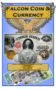 Coin Collecting Catalog from Falcon Coin and Currency Company
