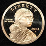 2004-S Sacagawea Dollar Proof