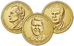 2016 Presidential Dollar Coin Set