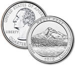 2010-D Mt. Hood National Forest Quarter - Uncirculated