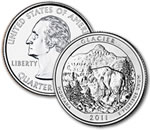 2011-D Glacier National Park Quarter - Uncirculated
