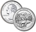 2011-D Olympic National Park Quarter - Uncirculated