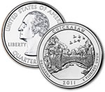 2011-D Chickasaw National Recreation Area Quarter - Uncirculated