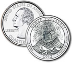 2012-D Hawaii Volcanoes National Park Quarter - Uncirculated
