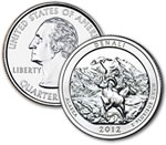2012-D Denali National Park and Preserve Quarter - Uncirculated