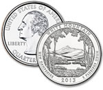 2013-D White Mountain National Forest Quarter - Uncirculated