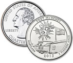 2013-D Fort McHenry Quarter - Uncirculated