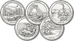 2014 National Park Quarter Set P&D