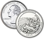 2014-D Shenandoah National Park Quarter - Uncirculated