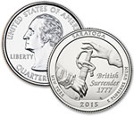 2015-D Saratoga National Historical Park Quarter - Uncirculated