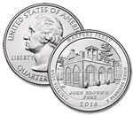 2016-P Harpers Ferry National Historical Park Quarter - Uncirculated