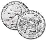 2016-P Theodore Roosevelt National Park Quarter - Uncirculated