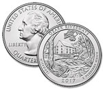 2017-D Ozark National Scenic Riverways Quarter