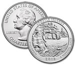 2018-P Apostle Islands National Park Quarter - Uncirculated