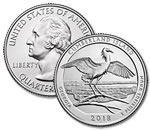 2018-P Cumberland Island National Park Quarter - Uncirculated