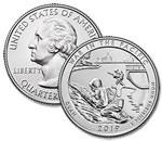 2019-P War in the Pacific National Park Quarter - Uncirculated