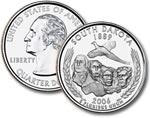 2006-D South Dakota Statehood Quarter